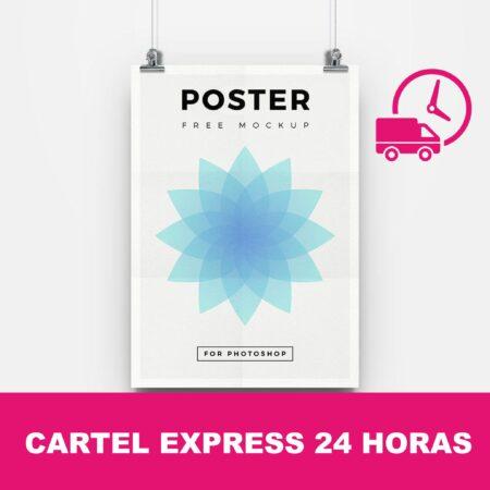 Cartel express 24 horas