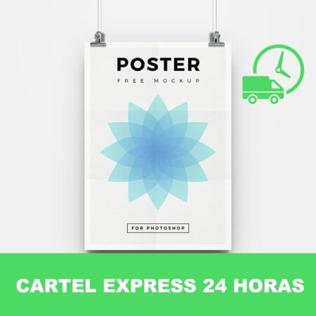 Cartel express 24 horas