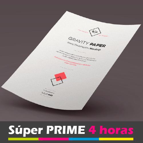 PAPEL DE CARTA EXPRESS 4 HORAS