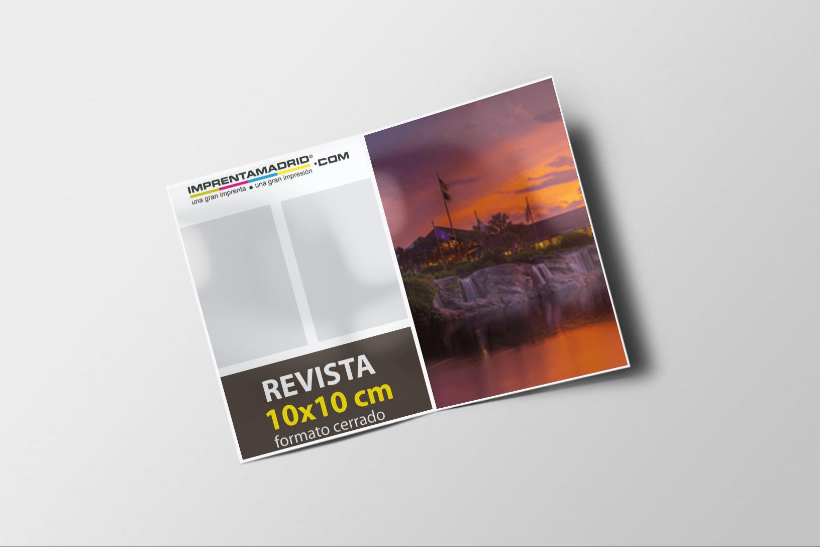 Revistas sin cubierta 10×10 Express