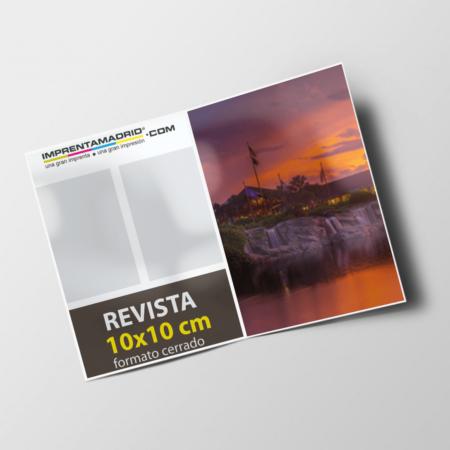 Revistas sin cubierta 10x10 cm