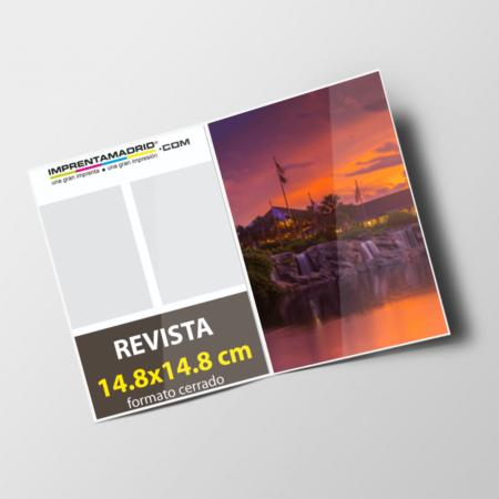 Revistas sin cubierta 14.8x14.8 cm