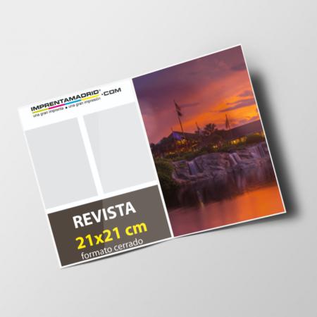 Revistas sin cubierta 21x21 cm