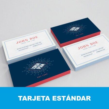 Tarjeta de visita estándar