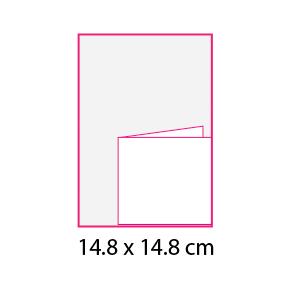 Revistas sin cubierta 14.8×14.8 cm