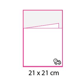 Revistas sin cubierta 21×21 cm Express