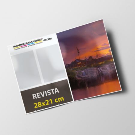 Revistas sin cubierta 28x21 cm express