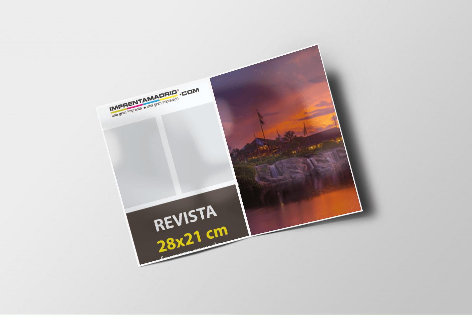 revistas sin cubierta 28×21 cm