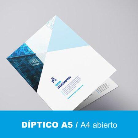 Díptico A5