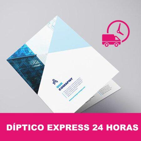 Díptico express 24 horas