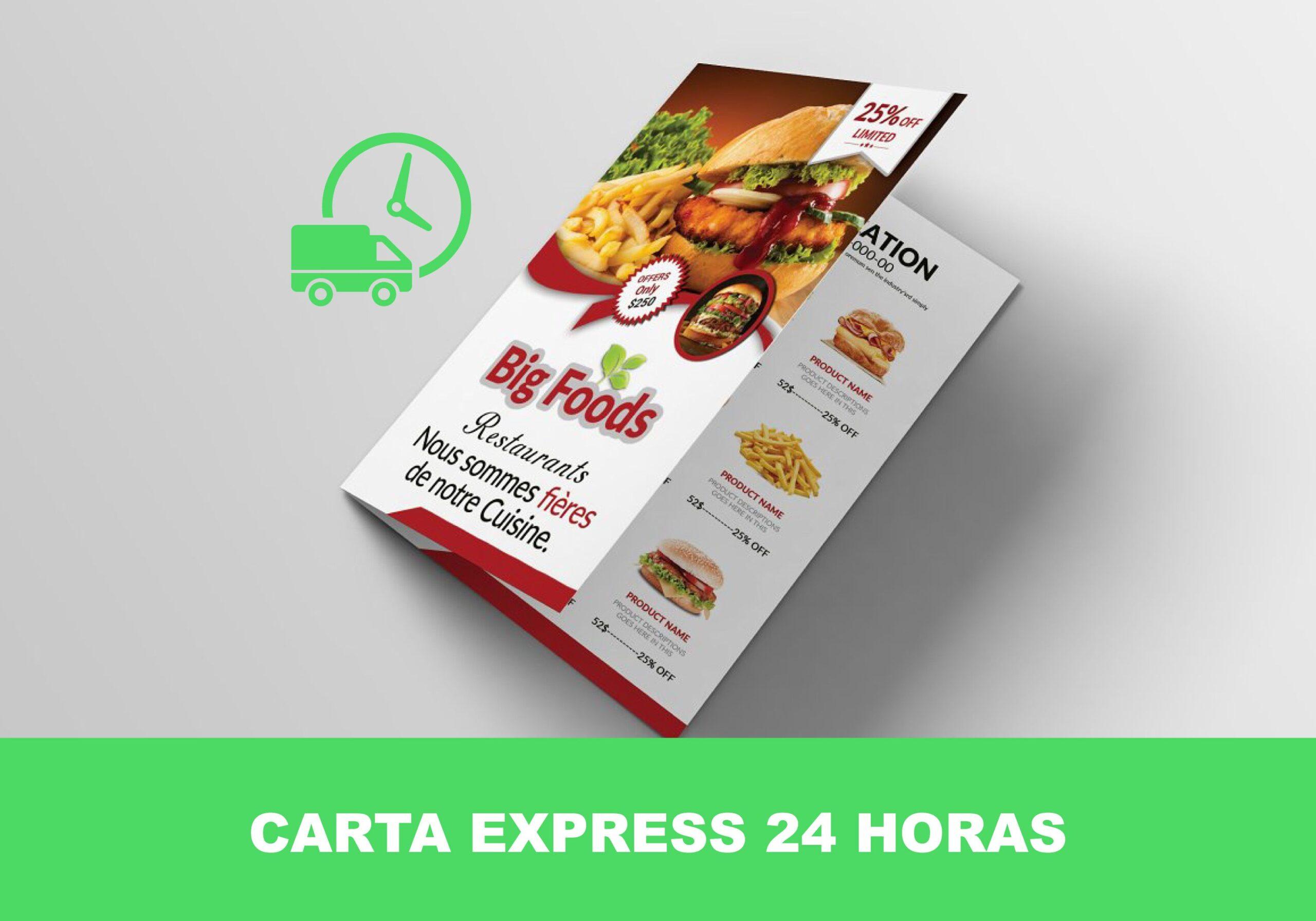 Carta express 24 horas