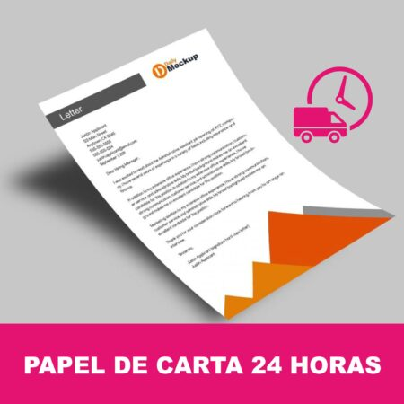 Papel de carta express 24 horas
