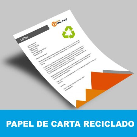 Papel de carta reciclado