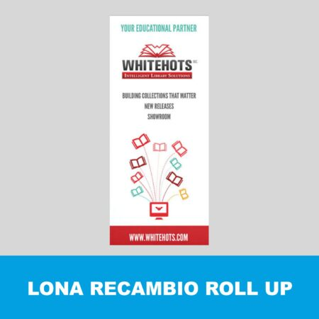 Roll up recambio sin estructura