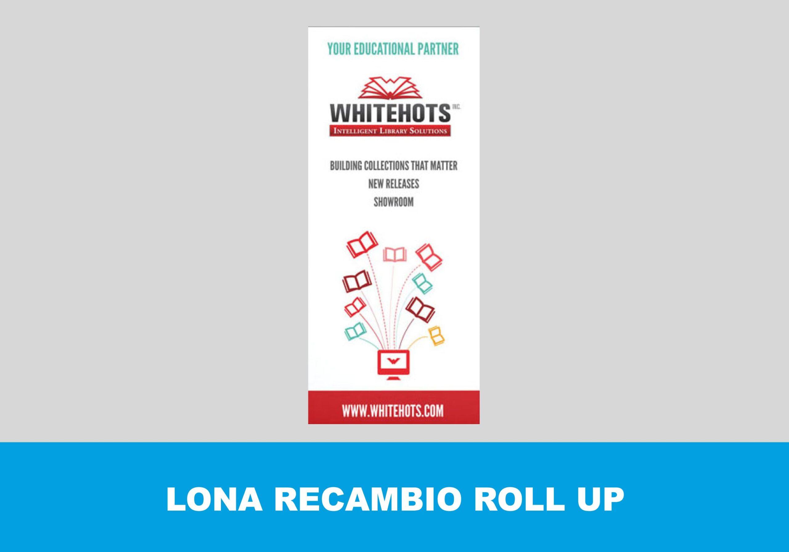 Roll up recambio sin estructura