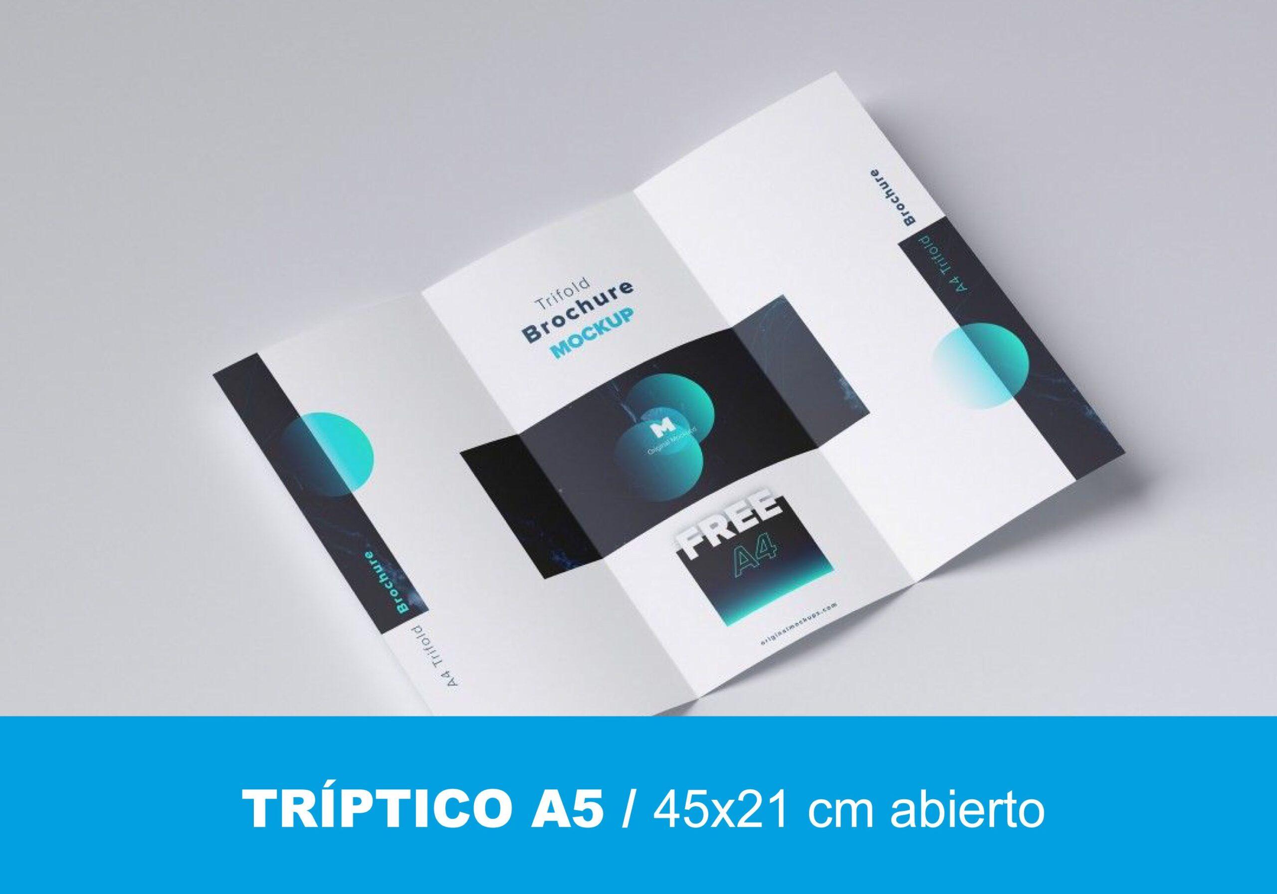 Tríptico A5