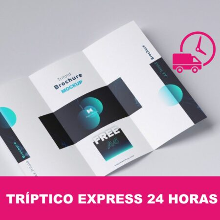 Tríptico express 24 horas