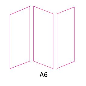 Tríptico A6