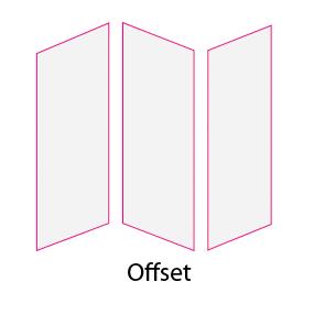 Tríptico papel offset