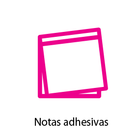 Notas adhesivas personalizadas