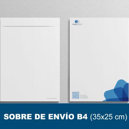 Sobres de envío B4 (35x25 cm)
