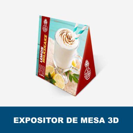 Expositores de mesa 3D