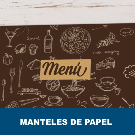 Manteles individuales de papel