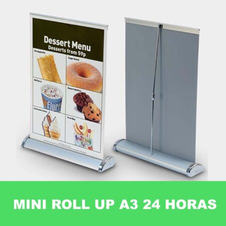 Mini Roll Up A3 express 24 horas