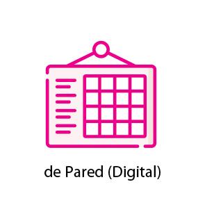 Calendarios de pared digital