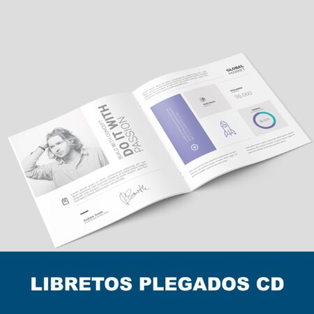 Libretos plegados CD