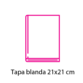 Catálogo con cubierta 21×21 cm