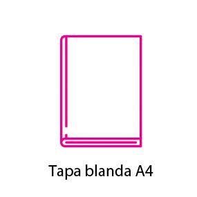 Catálogo encolado A4