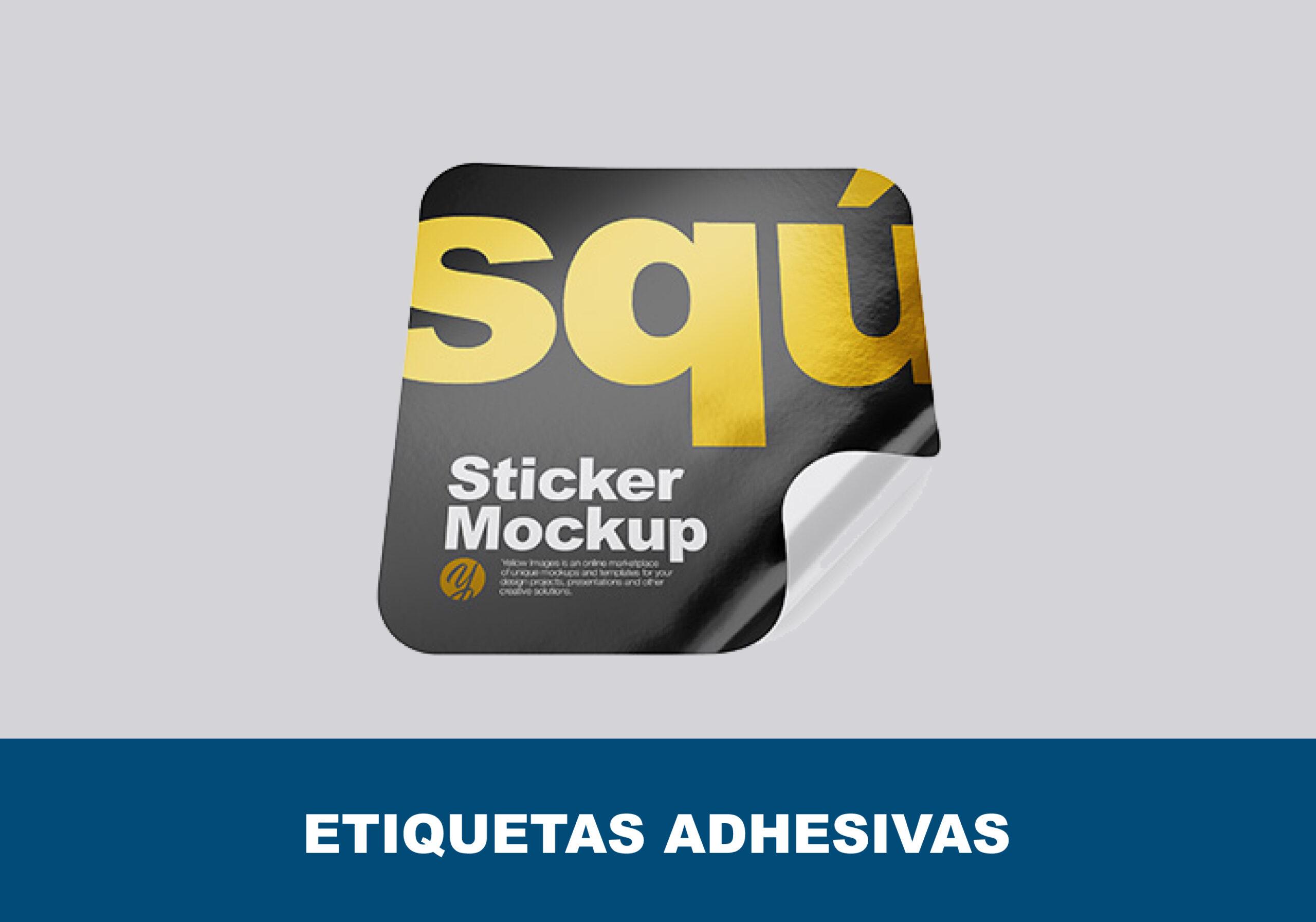 Adhesivos personalizados